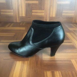 Naturalizer Shoes - NATURALIZER BRENNA Stretch Shaft Heel Ankle Bootie